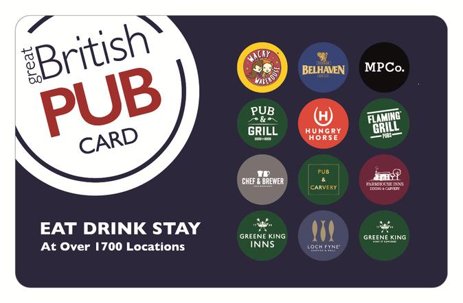 Great British Pub 20 GBP eGift