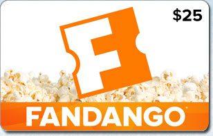 Fandango 25 eGift Card