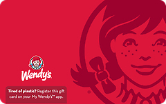 Wendy's Gift Card