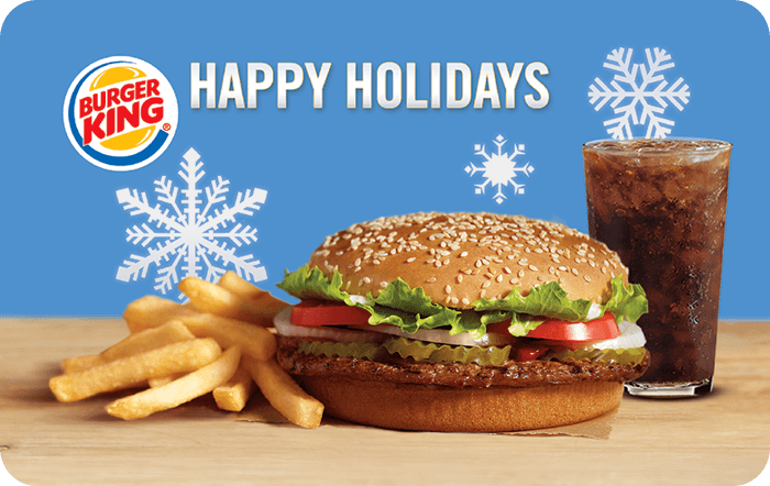 Burger King Whopper Gift Cards