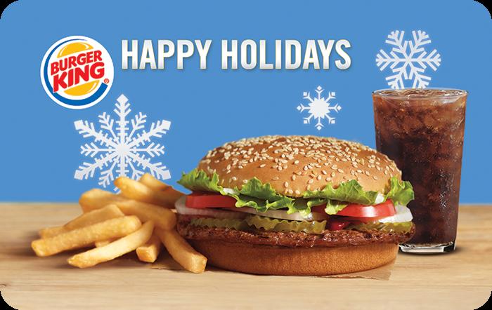 Burger King Whopper Gift Cards