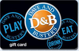 Dave & Buster's® eGift