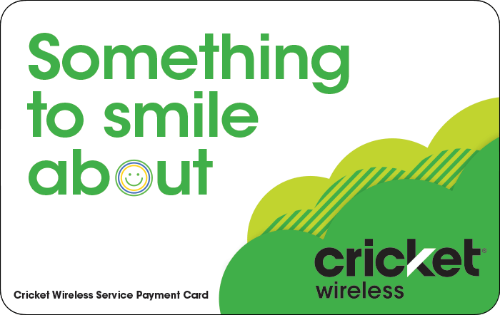 Promotion of Cricket Wireless Prepaid Phone Card (e-delivery)