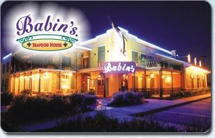 Babin's Seafood House eGift Card
