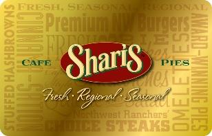 Shari's Café & Pies eGift Card