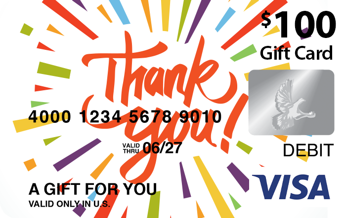Thanks Visa® Gift Card