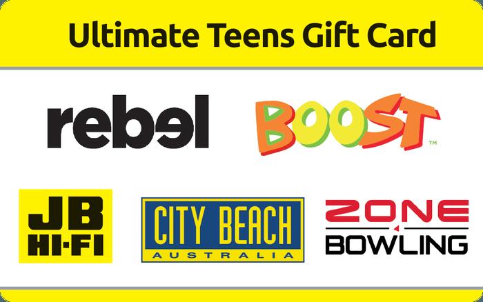 Ultimate Teens Gift Card