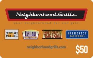 Neighborhood Grills eGift Card