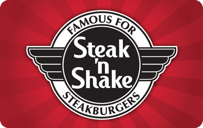 Steak 'n Shake Pole Sign Gift Card