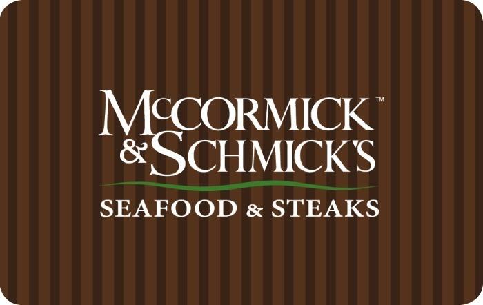 McCormick & Schmick's eGift Card