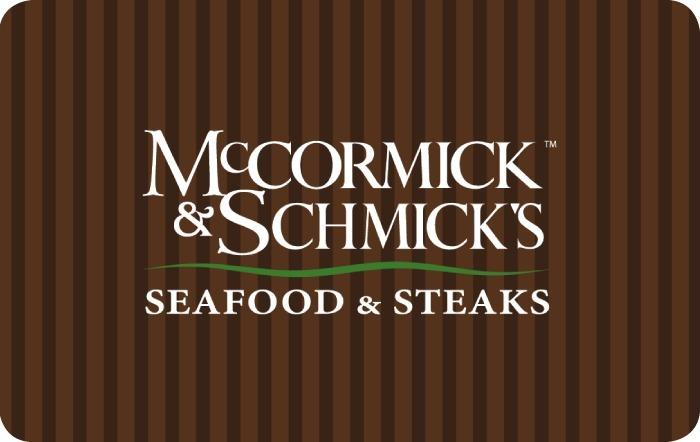 McCormick & Schmick's eGift