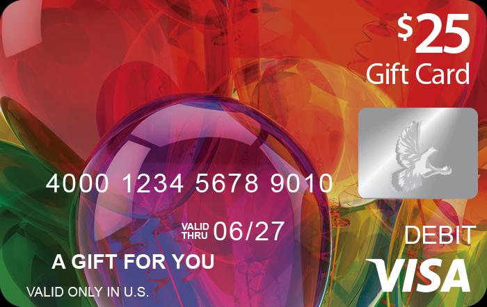 Balloons Visa® Gift Card