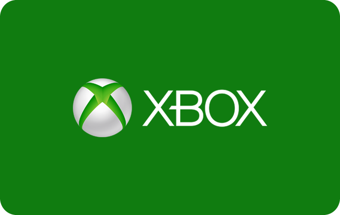 Microsoft Xbox Cash Gift Card