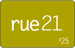 rue21 $25 Gift Card