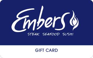 Embers Restaurant eGift Card