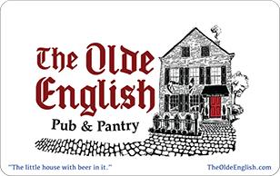 The Olde English Pub $20 eGift