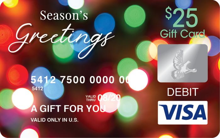 Season Greetings Visa® Gift Card