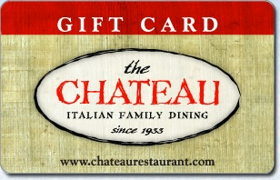 The Chateau Restaurant eGift Card