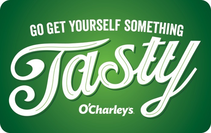 Promotion of O'Charley's eGift