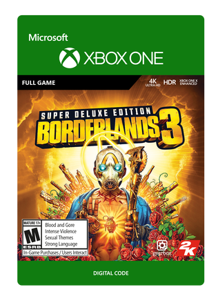 BORDERLANDS3 SUPER DELUXE EDITION $99.99