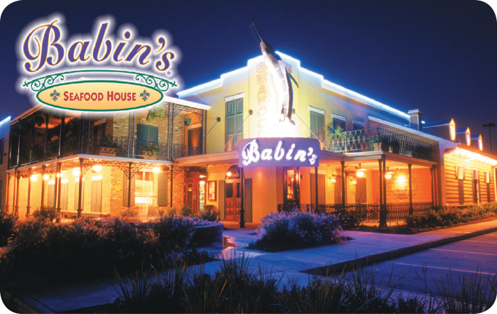 Babin's Seafood House Gift Cards