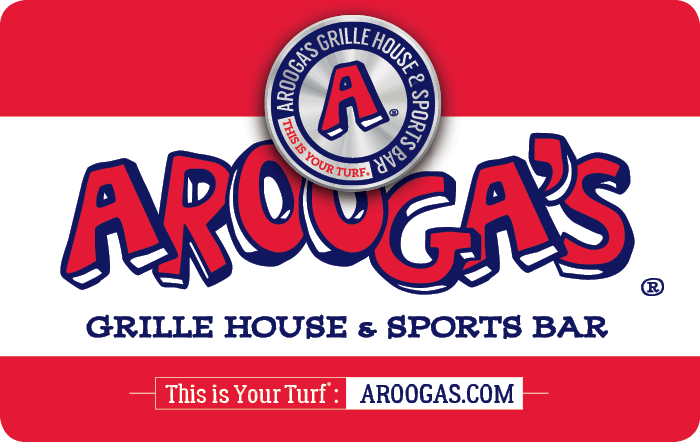 Arooga's Grille House Gift Card