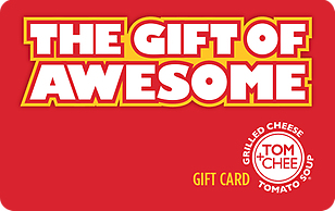 Tom+Chee: Grilled Cheese and Tomato Soup eGift