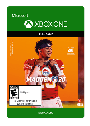 Madden NFL 20 Standard Edition Digital Download