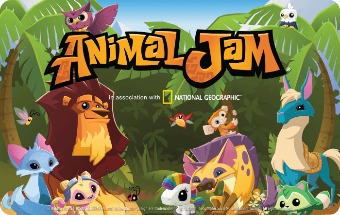 Animal Jam eGift Cards