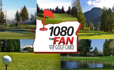 1080 The FAN VIP Golf Cards - Oregon and Southwest Washington Cards Available