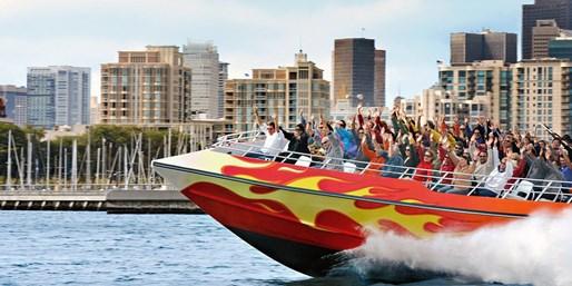San Francisco - NETWORK - Travelzoo: $15 -- High-Speed Boat Ride on SF Bay, Reg. $28