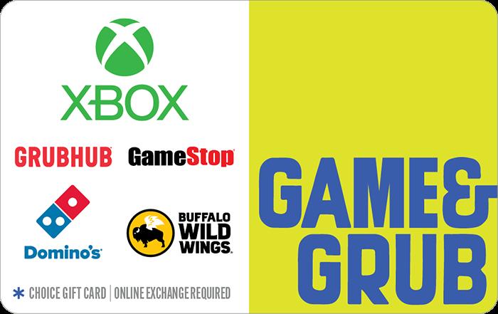 Game & Grub Choice eGift Card