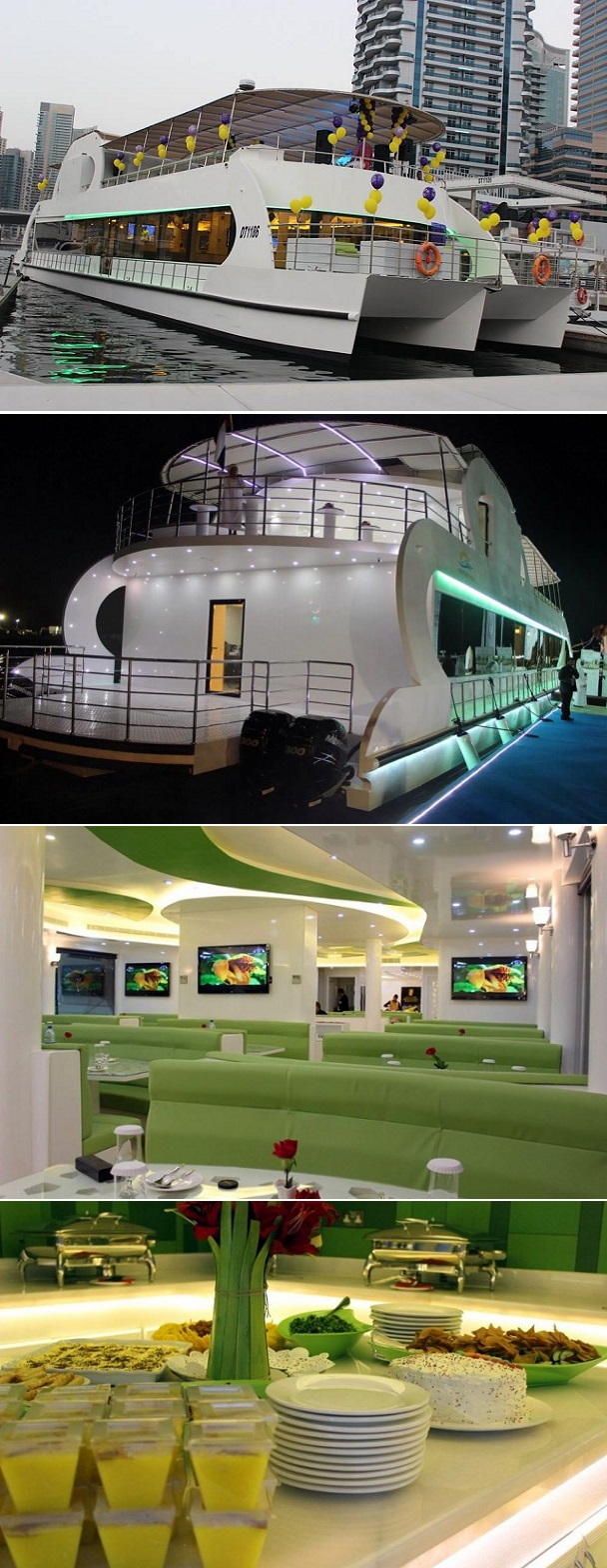 Monalisa Yacht Cruise with Dinner Buffet