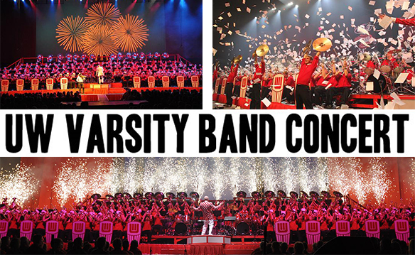 Half-Off 2 Tickets for UW Varsity Band 2018 Spring Concert at the Kohl Center