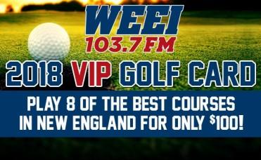 2018 WEEI Golf Card