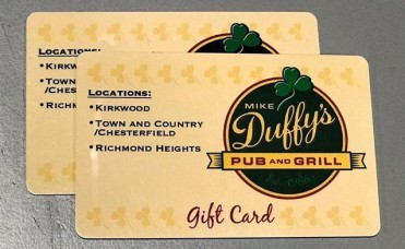 St. Louis - (2) $25 Gift Cards to Mike Duffy's Pub & Grill