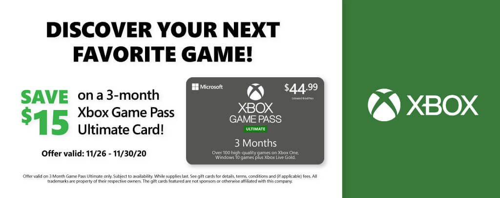 Xbox Promotion