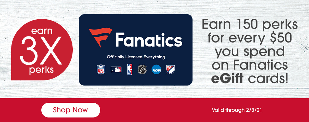 Fanatics Promotion