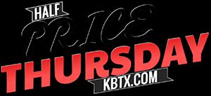 KBTX-TV - Half Price Deals