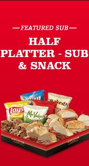 Half Platter - Sub & Snack