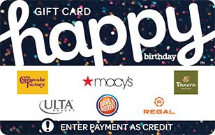 Happy Birthday Gift Card