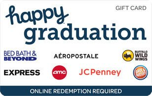 happy graduation egift card