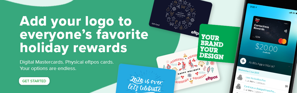 Add your logo to everyone's favourite holiday rewards