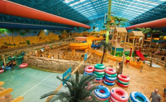 $15 For One-Ticket To Sahara Sam's Oasis Indoor Water Park