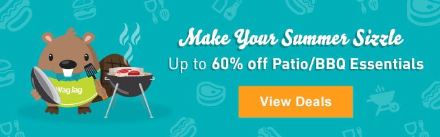Save up to 60% on BBQ and patio essentials