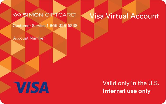 Red Virtual Visa