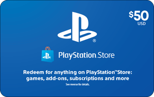 Sony PlayStation Store eGift Card