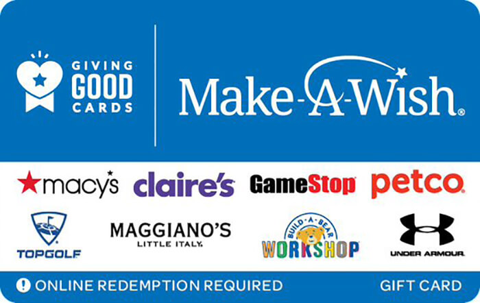 Giving Good Make-A-Wish eGift Card