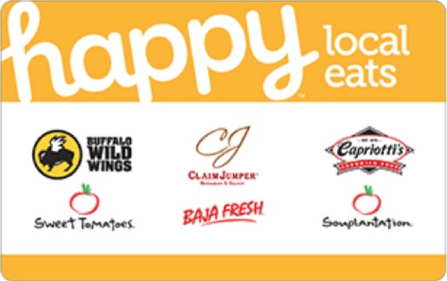 happy local eats gift card