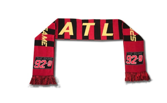 EXCLUSIVE 92-9 THE GAME SCARF